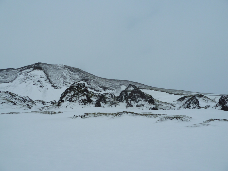 landmannalaugar in the snow