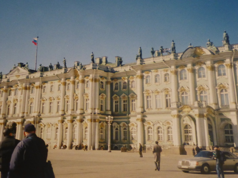 Winter Palace, St Petersburg