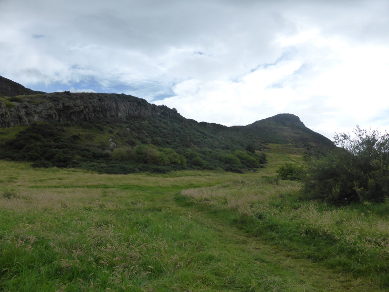 Arthur's Seat from the bottom