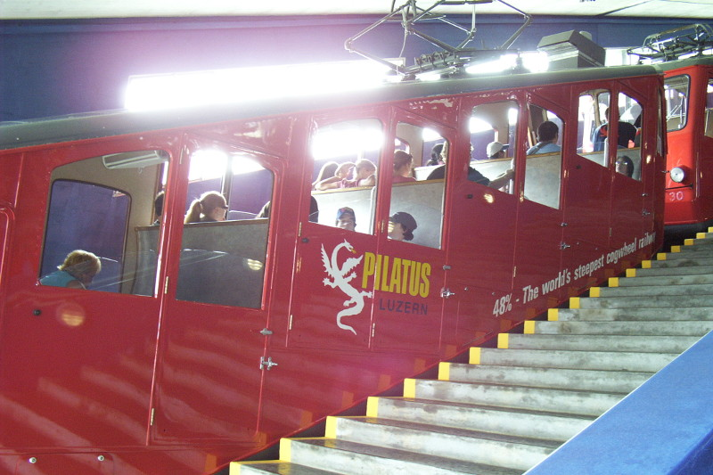 The Pilatus Cogwheel Railway