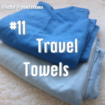 Useful Travel Items travel towels header pic