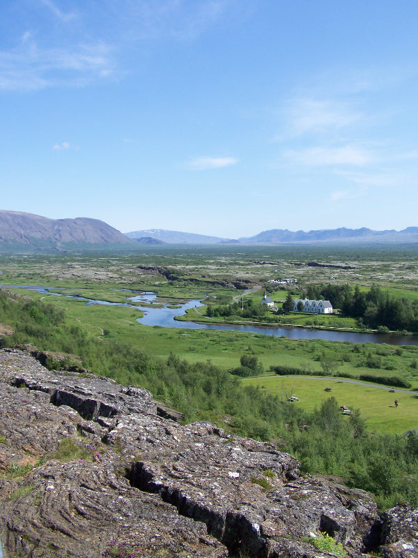 Þingvellir in summer