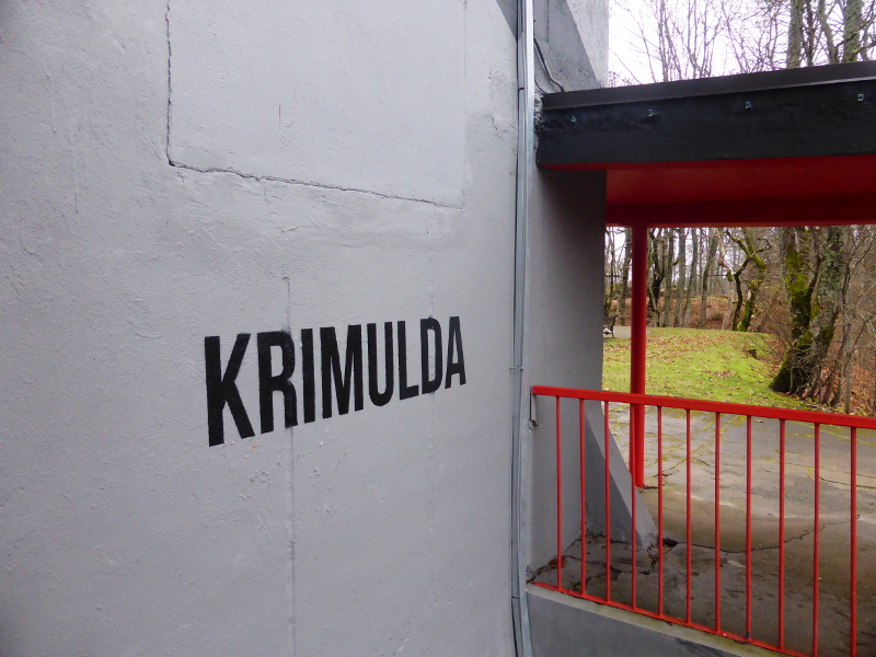 Krimulda cable car station