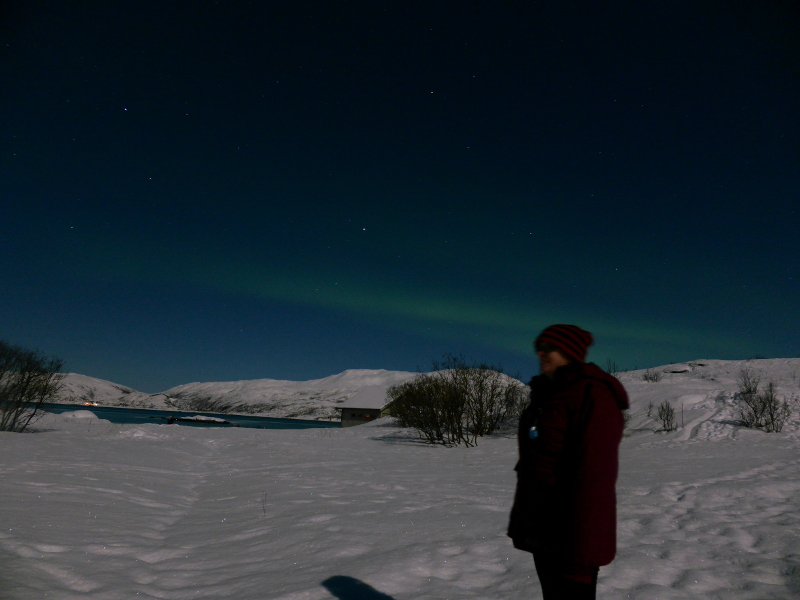 Selfie with the Northern Lights