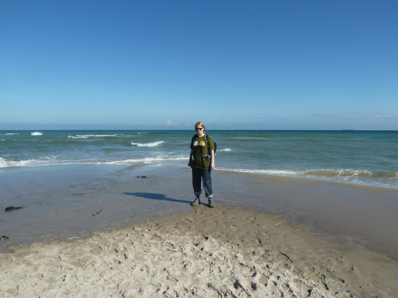 Me where the Baltic meets the North Sea