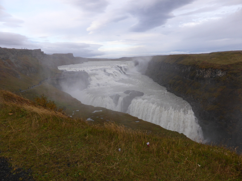 Gullfoss in autumn