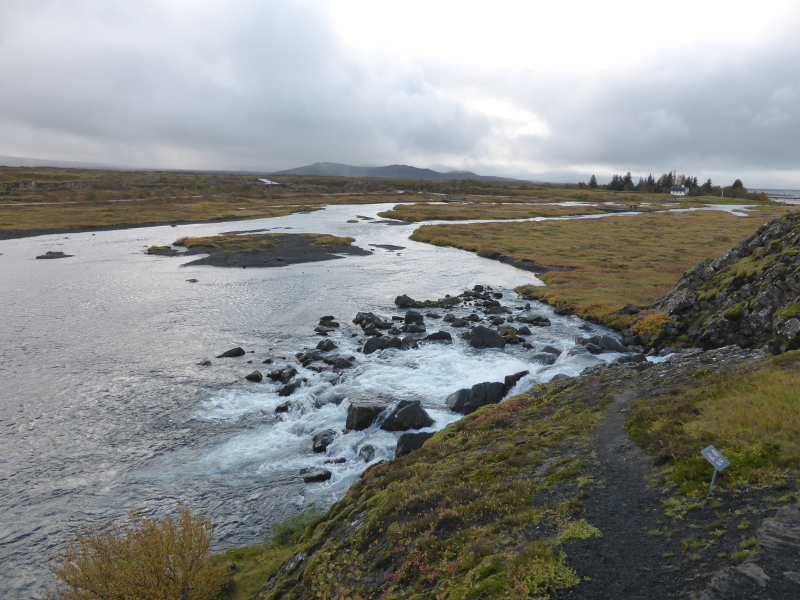 Þingvellir in autumn