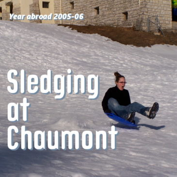 Sledging at Chaumont header pic