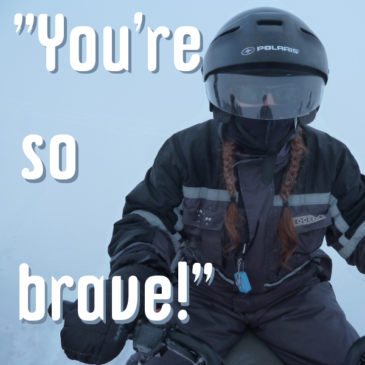 """You're so brave!"" header pic"