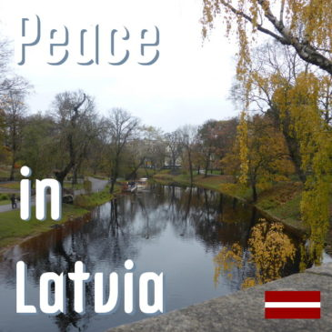 Peace in Latvia title pic