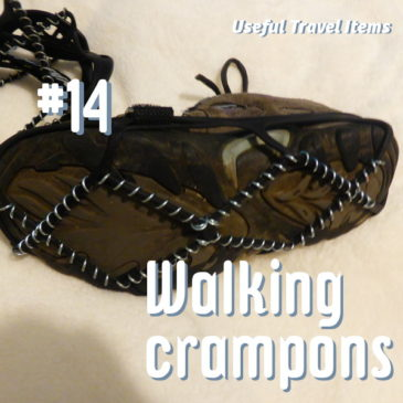 Useful Travel Items - walking crampons header pic