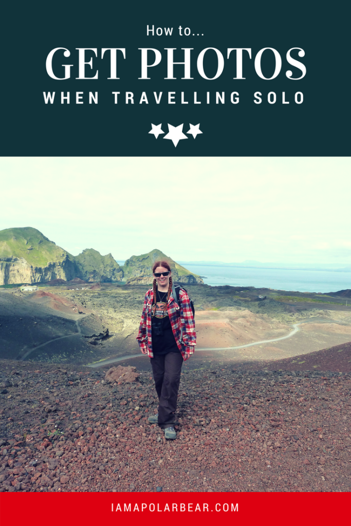 How to... get photos of yourself when travelling solo | iamapolarbear.com