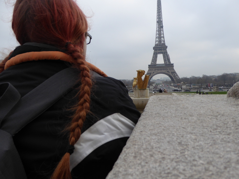 Me with the Eiffel Tower